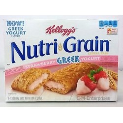Nutri-grain Strawberry Greek Yogurt Bars, 10.4-ounce Boxes