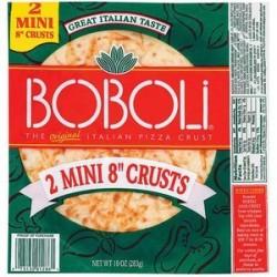 "Boboli, 2 Mini 8"" Pizza Crusts, 10oz Package"