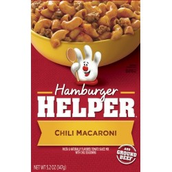 Betty Crocker Hamburger Helper, Mexican, Chili Macaroni, 5.2-Ounce