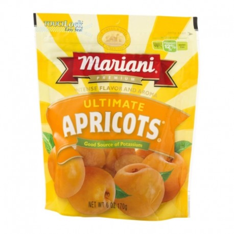 Mariani Premium Dried Ultimate Apricots 16 Oz Resealable