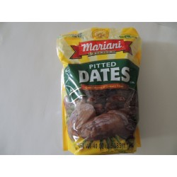 Mariani, 100% Natural, Pitted Dates, Fat Free, 40 oz Bag