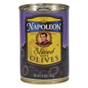 Napoleon Olives Sliced Black, 6.5-Ounce Cans