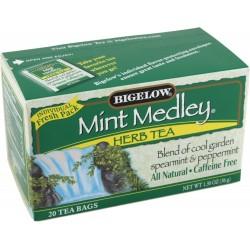 Bigelow Tea, 20 Bags - Mint Medley (3 Pack)
