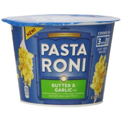 Pasta Roni Cups, Butter Garlic, 2.15 Ounce