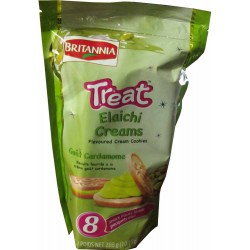 Britannia Treat - Cardamom (Elaichi) Cream Cookies (288 g)
