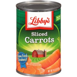 Libby's Sliced Carrots, 14.5 oz Can