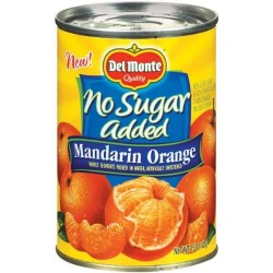 Del Monte Mandarin Orange No Sugar Added 15 Oz