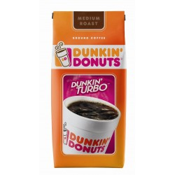Dunkin' Donuts Dunkin' Turbo Ground Coffee, 11 oz