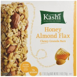 Kashi Chewy Granola Bar-Honey Almond Flax, 7.4 Ounce Net Wt