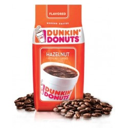 Dunkin' Donuts Hazelnut Ground Coffee, 12 Ounce