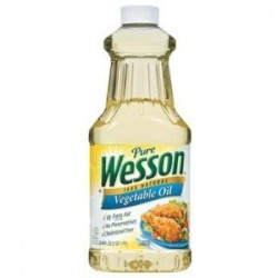 Pure Wesson 100% Natural Vegetable Oil 24 Fl Oz