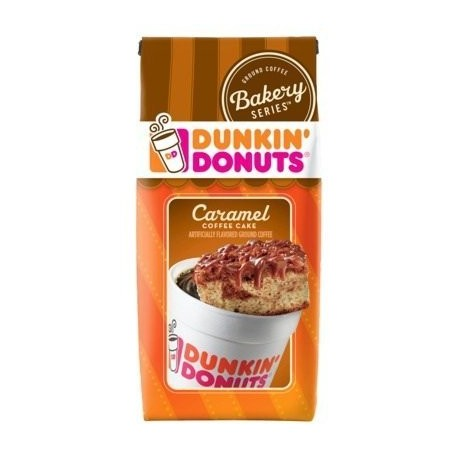 Dunkin Donuts Caramel Coffee Cake 11 Oz. Bags