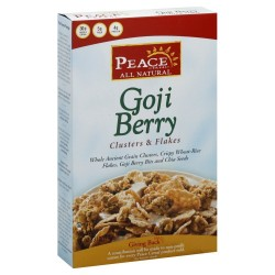 Peace Cereal Goji Berry Cereal, 11 Ounce