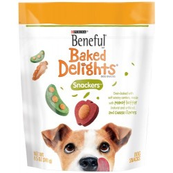 Beneful Baked Delights Dog Snacks, Snackers, 8.5-Ounce Pouch