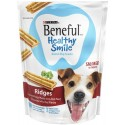Beneful Healthy Smile Dental Dog Snacks, Ridges, 7.4-Ounce Pouch