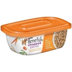 PURINA, Beneful Chopped Blends Chicken/Carrot for Pets, 10-Ounce