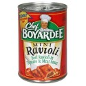 Chef Boyardee Mini Beef Ravioli in Tomato & Meat Balls 15 Oz
