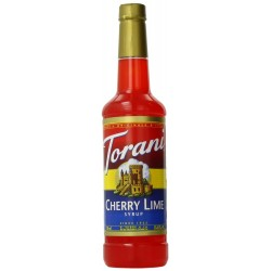 Torani Syrup, Cherry Lime, 25.4 Ounce