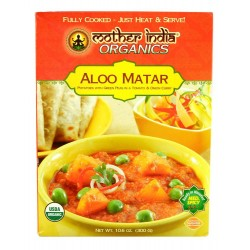 Mother India Organics Mother India Organc Aloo Matar Medium Og 10.6 Ounce