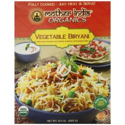 Mother India Organic Vegetable Biryani, 9.3 Ounce