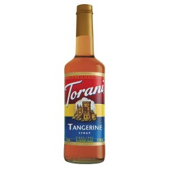 Torani Mandarin Orange Syrup, 750 ml