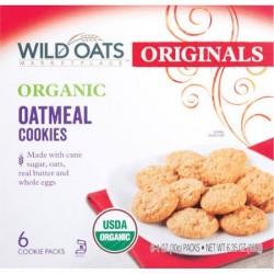 Wild Oats Marketplace Originals Organic Oatmeal Cookies, 6 Ct