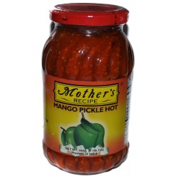 Mother's Recipe Mango Pickle, Hot - 1.1 Pounds