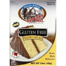 Hodgson Mill - Gluten Free Yellow Cake Mix - 15 Ounce