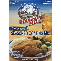 Hodgson Mill Seasoned Coating Mix Gluten Free 10 Ounce