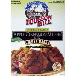 Hodgson Mill Gluten Free Apple Cinnamon Muffin Mix 7.6 Ounce