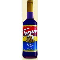 Torani Grape Syrup 750 ml