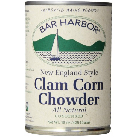 Bar Harbor Clam Corn Chowder, 15-Ounce
