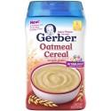 Gerber Baby Cereal, Oatmeal, 16 Ounce