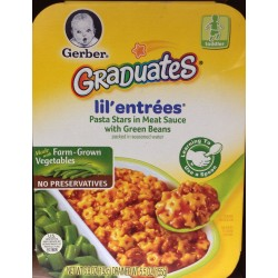 Gerber Graduates Lil' Entrees Pasta Star in Meat Sauce 6.8 Ounce