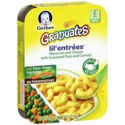 Gerber Graduates Lil' Entrees - Macaroni and Cheese 6.6 Ounce