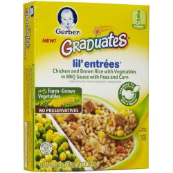 Gerber Graduates Lil' Entrees - Chicken & Brown Rice 5.3 Ounce