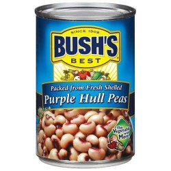 Bush's Best Packed from Fresh Shelled Purple Hull Peas, 15.8 Ounce