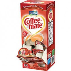 Coffee Mate Cinnamon Vanilla Creme Liquid Creamer (50 count)