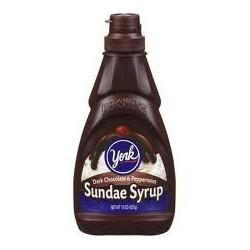 York Sundae Syrup, Dark Chocolate and Peppermint, 15-Ounce Bottle