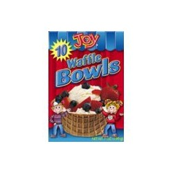 Joy Waffle Bowl Cone, 10  Count