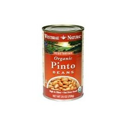 Westbrae Natural Vegetarian Organic Pinto Beans, 15 Ounce Cans