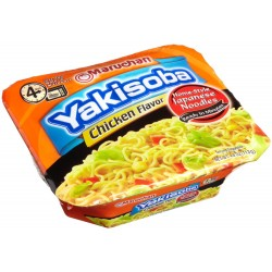 Maruchan Yakisoba, Chicken Flavor, 4-Ounce Microwavable Containers
