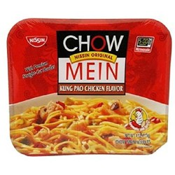 Nissin Chow Mein Kung Pao Chicken 4 Ounce