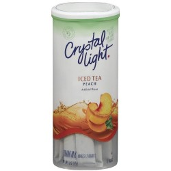 Crystal Light Peach Tea, (12-Quart) 1.5-Ounce Canisters