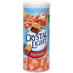 Crystal Light Fruit Punch, 2.04-Ounce Unit
