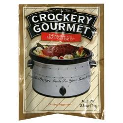 Crockery Gourmet Seasoning Mix For Beef, 2.5-Ounce
