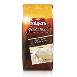 Folgers Gourmet Selections, Coconut Cream Pie Ground Coffee, 10 Oz.
