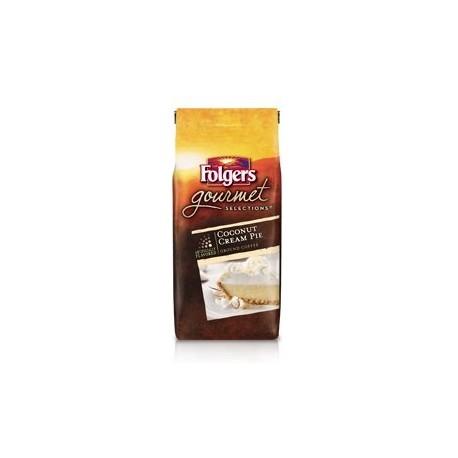 Folgers Gourmet Selections, Coconut Cream Pie Ground Coffee, 10 Oz.