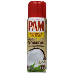 Pam Simply Coconut Oil No-Stick Cooking Spray 5 Ounce Can