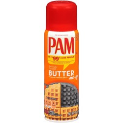 PAM Simply Coconut No-Stick Cooking Spray 5  Ounce